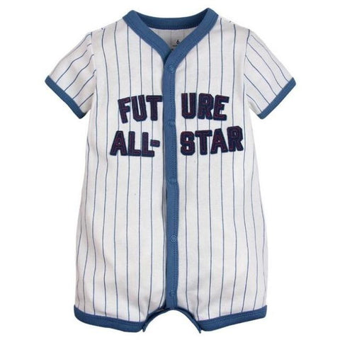 Baby All-Star Baseball Romper (6-24M)