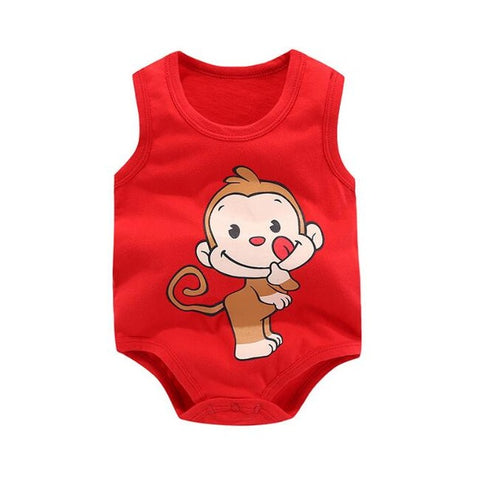 Little Monkey Tank Top Onesie - Unisex (6-24M)