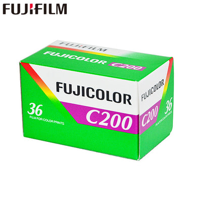 Fuji Fujicolor C200 35mm Film CA 135-36 Fujifilm Color Print (Single Roll) Exp. 01/2021