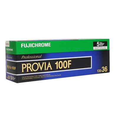 (5 Rolls) Fuji Provia 100F RDPIII Slide 135-36 35mm Film Wholesale - (Exp. 04/2019)
