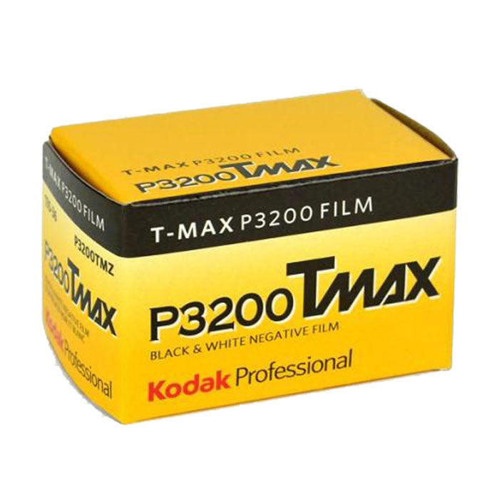 Kodak T-MAX P3200 TMZ 135-36 B&W Print Film (Single Roll) Exp. (10/2019)