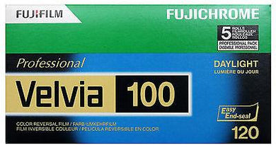 Fuji Velvia 100 120 Film Wholesale Exp. 07/2019 - (5 Rolls)