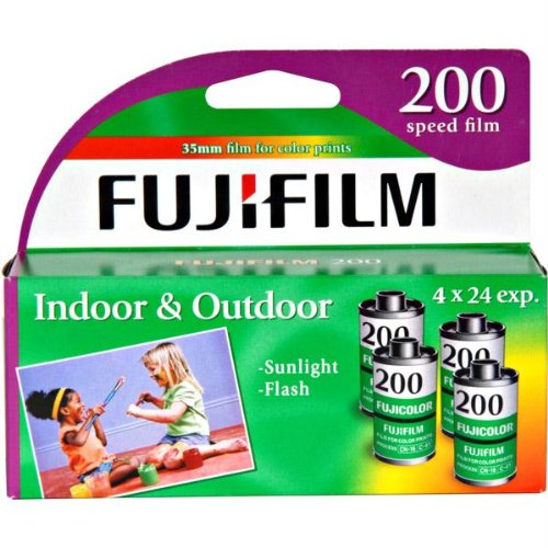 Fuji 200-24 35mm 4-Pack Film Exp. 2017 (4 Rolls)