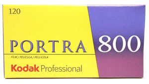 Kodak Portra 800 120 Film Wholesale (5 Rolls) Exp. 11/2021