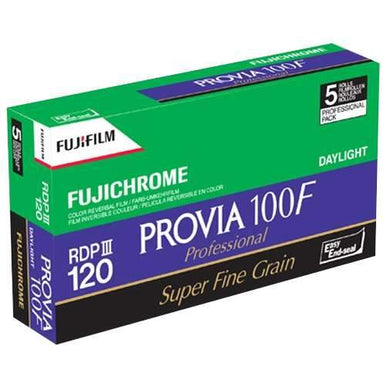 Fuji Provia 100F 120 Color Slide Film Wholesale (5 Rolls) 08/2020
