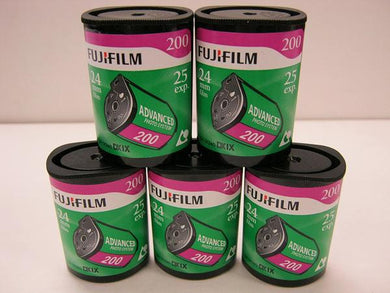Fuji APS Film ISO 200-25 Exposures Advantix Nexia Wholesale (Single Roll)