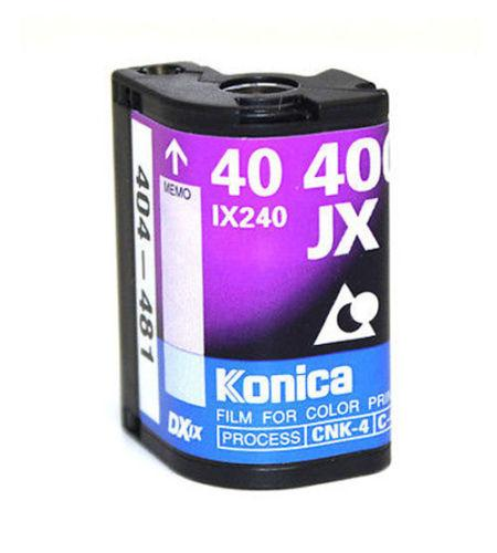 Konica APS Film ISO 400-40 Exposures Advantix Nexia Wholesale (Single Roll)