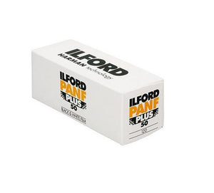 Ilford PANF Plus 50 120 Film Wholesale (Single Roll)