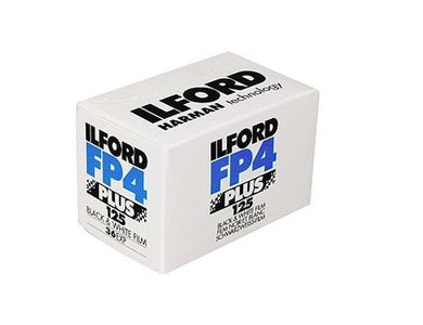 Ilford FP4 125 135-36 B&W 35mm Film Wholesale (Single Roll)