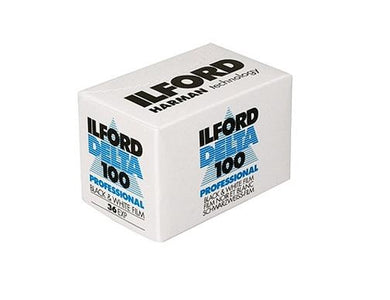 Ilford Delta 100 135-36 35mm B&W Film Wholesale (Single Roll) 07/2022