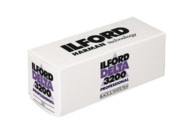 Ilford Delta 3200 120 B&W Film Wholesale (04/2020)