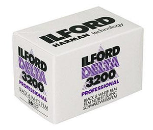 Ilford Delta 3200 135-36 35mm B&W Film Wholesale Exp. (10/18) - (Single Roll)