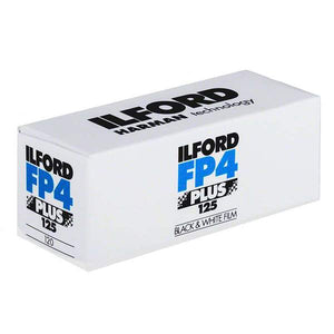 Ilford FP4 125 120 B&W Film Wholesale (Single Roll)
