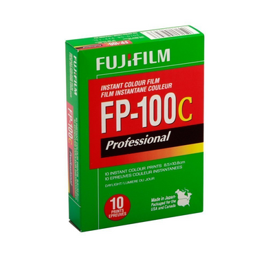 Fuji FP-100C Instant Film Color 10 Exposures Wholesale (Single Pack)