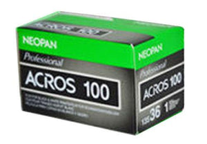 Fuji Neopan 100 Acros 135-36 35mm B&W Film (03/2015) Wholesale (Single Roll)