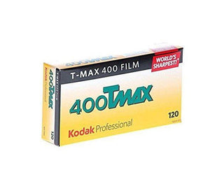 Kodak T-MAX B&W 400 120 Film Wholesale (5 Rolls) Exp. 06/2021