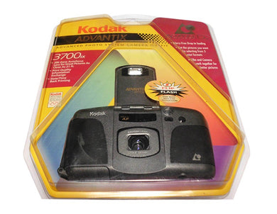 Kodak Advantix 3700IX APS Film Camera Advanced Photo System Vintage Flash Date