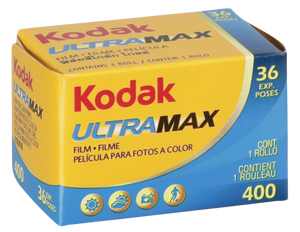 Kodak UltraMax 400 135-36 35mm Boxed Film Wholesale (Single Roll) Exp.11/2021