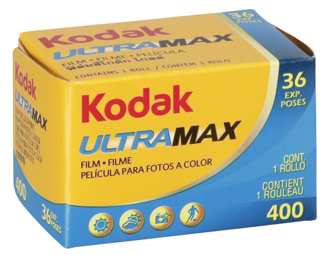 Kodak UltraMax 400 135-36 35mm Boxed Film Wholesale (Single Roll) Exp. 02/2021
