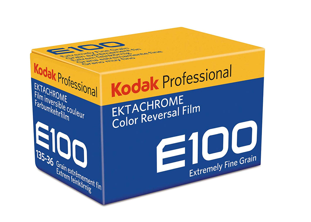 Kodak Ektachrome E100 35mm Slide Film 135-36 Chrome Color Reversal