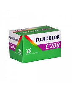 Fuji C200 35mm Film FujiColor FujiFilm 135-36 Exposures Single Roll (Exp 2014)