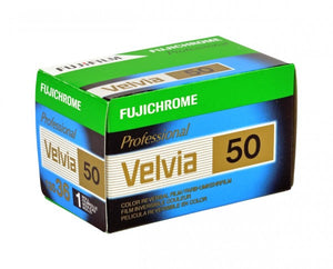 FUJIFILM Fujichrome Velvia 50 Professional RVP 50 (35mm Roll Film, 36 Exposures) - Single Roll