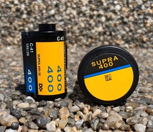 Kodak Supra 400 135 36 Color Negative 35mm Film
