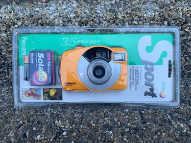 Solaris Waterproof 35mm Point Shoot Camera with 1 roll Ferrania Film