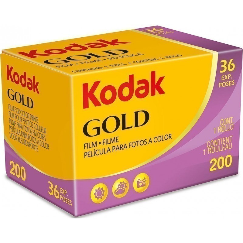 Kodak Gold 200 36 35mm Film GB 135-36 Expiration: 10/2021