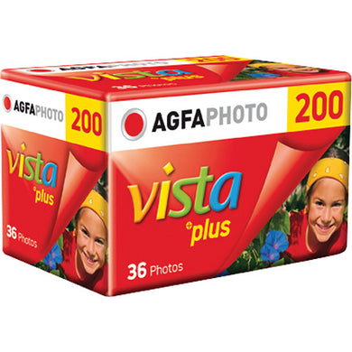 Agfa Vista Plus 200 35mm Film 135-36 Exp Color Neg Film (Single Roll) Exp: 03/2017