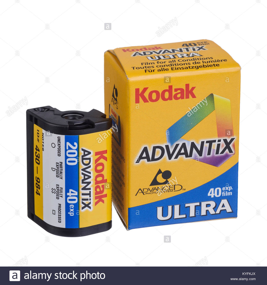 Kodak APS Film ISO 200-40 Exposures Advantix Nexia Wholesale (Single Roll)