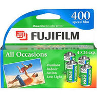 Fuji 400-24 35mm Film 4-Pack Exp. 2019 (4 Rolls)