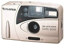 Fujifilm Big Viewfinder Date 60AF Point & Shoot 35mm Film Camera