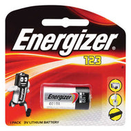 Energizer CR123A CR 123A 123 3V Lithium Battery (Exp. 2027)