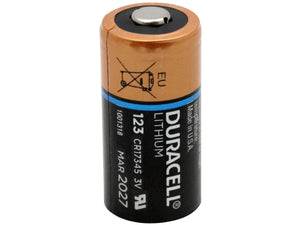Duracell 123 photo battery
