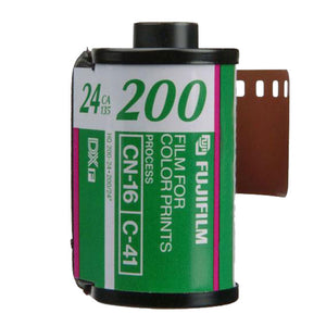 Fuji 200-24 35mm Bulk Packaged Expired Film Wholesale (Single Roll)