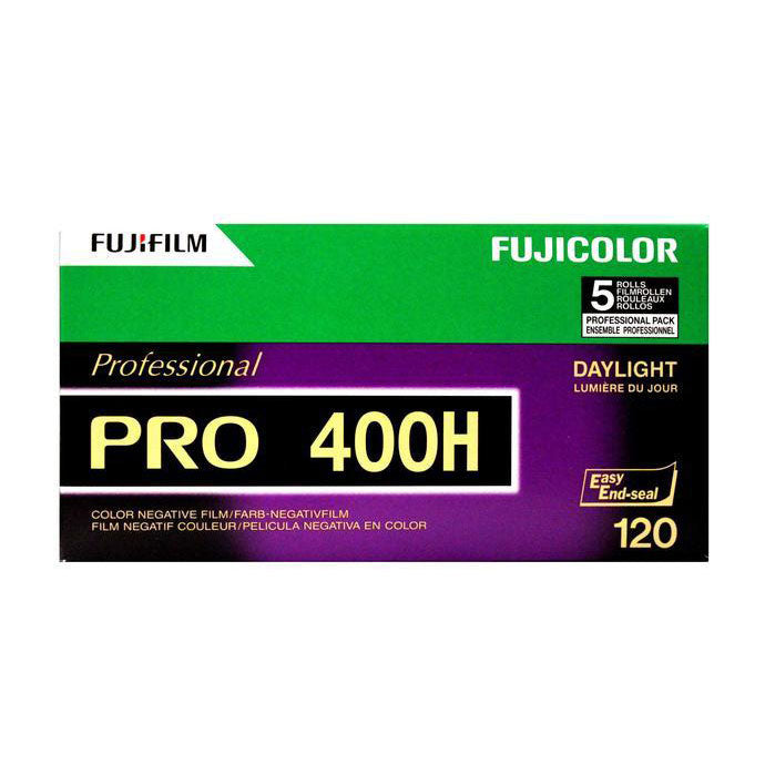 Fuji PRO 400H 120 Film Wholesale (5 Rolls) Exp. 11/2020