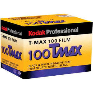 Kodak T-MAX 100 35mm TMX 135-36 Film Wholesale (Single Roll) 08/2021