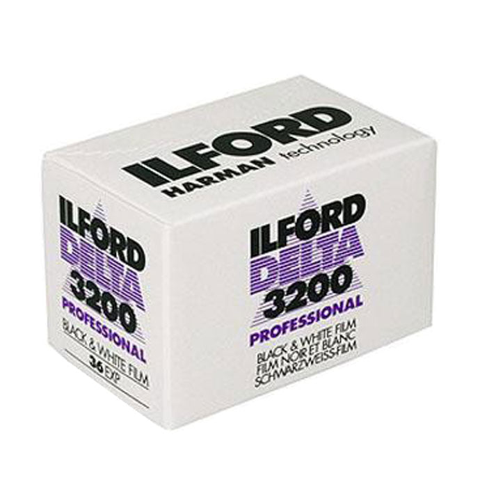 Ilford Delta 3200 135-36 35mm B&W Film Wholesale (Single Roll) Exp. 10/2019