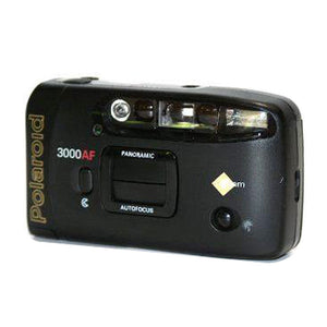 Polaroid 3000AF Panoramic 35mm Film Camera Auto Flash Autofocus Date Imprint