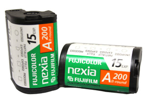 Fuji APS Film ISO 200-15 Exposures Advantix Nexia Wholesale (Single Roll)