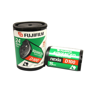 Fuji APS Film ISO D100-15 Exposures Advantix Nexia Wholesale (Single Roll)