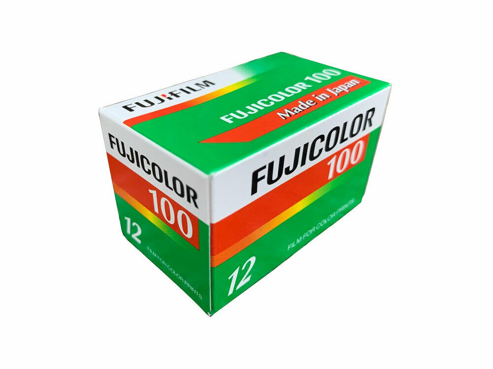 Fuji Fujicolor 100-12 35mm Color Print Film - Single Roll
