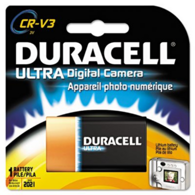 Duracell cr-v3 photo battery