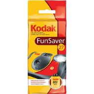Kodak Disposable Camera FunSaver Flash 35mm Film One Time Use 800- 27Exp (07/2020)