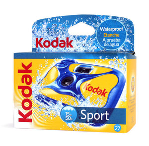 Kodak Underwater Disposable Camera Sport Waterproof 35mm Film 27Exp 09/2019