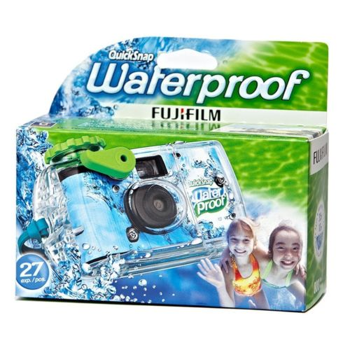 Fuji Quicksnap One Time Underwater Disposable Waterproof Camera 2016-2017