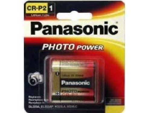 Panasonic CR-P2 Battery Photo 6V 223A CR223 6 Volt Lithium CRP2 Camera (Exp. 2028)