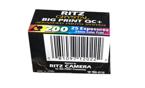 Ritz APS Film 200-25 Exposures Advantix Nexia Wholesale (Single Roll)