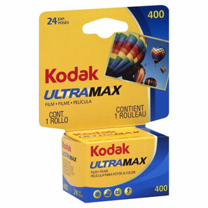 Kodak UltraMax 400 35mm 135-24 Color Film Wholesale - Exp. 11/2021 (Single Roll)